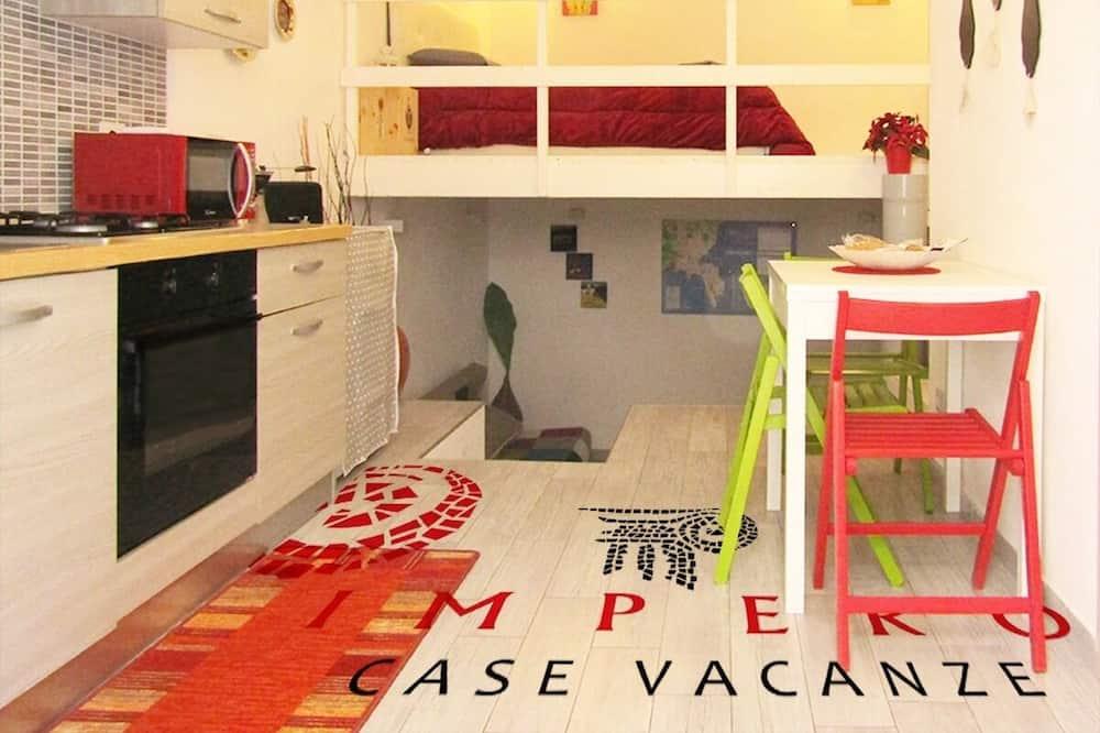 Comfort Studio (A Levante) - Living Area