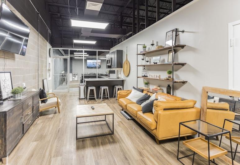 The River City Flats, Memphis, Sala de estar en el lobby