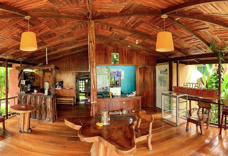 Cotingas Ocean View, Drake Bay, Sala de Estar do Lobby