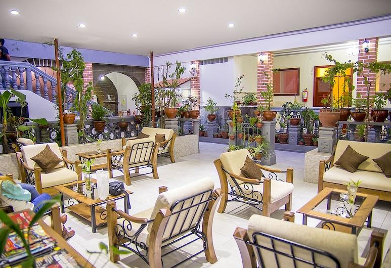 La Colmena Hotel, Cusco, Siddeområde i lobby