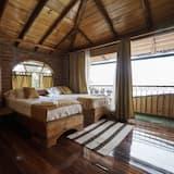 Standardværelse - 2 enkeltsenge - balkon - udsigt til dal - Værelse