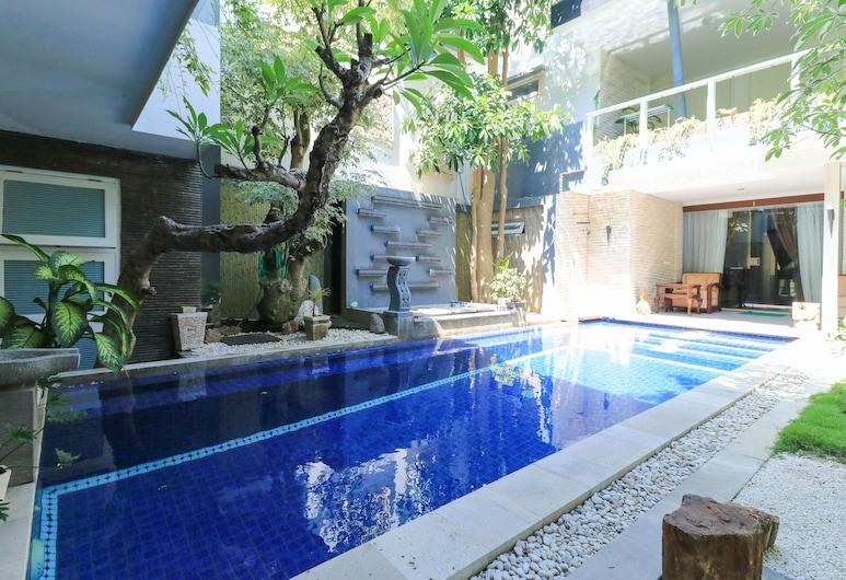 庫布卡利住宅酒店, 登巴薩, 室外泳池