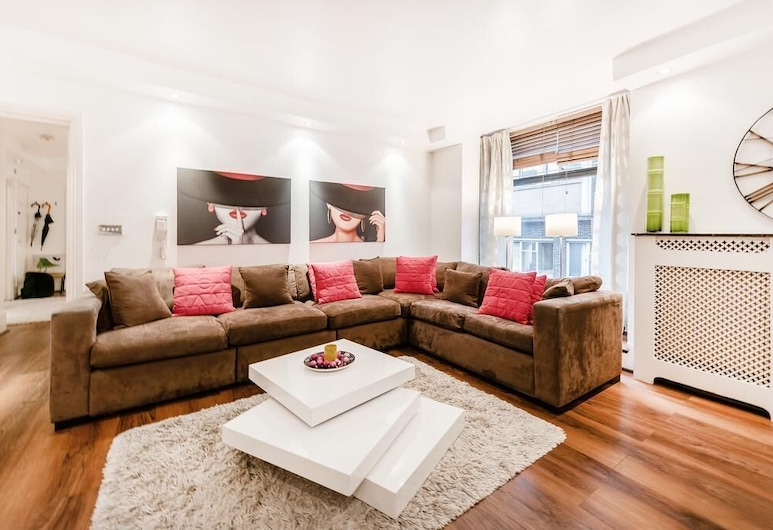 My Lady, London, Deluxe Apartment, Living Area