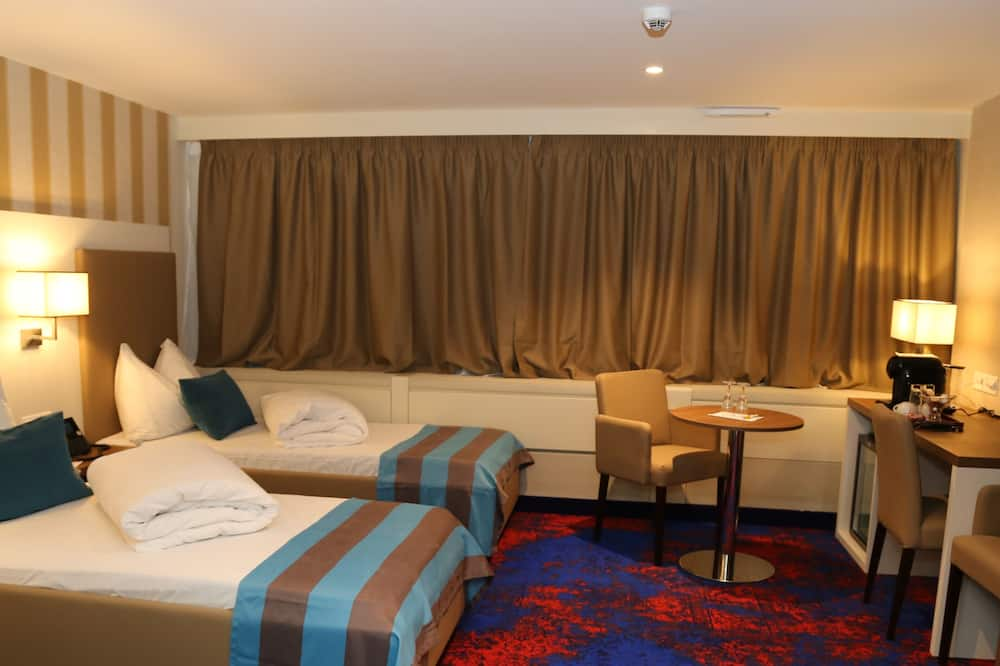 Business Twin Room - Living Area