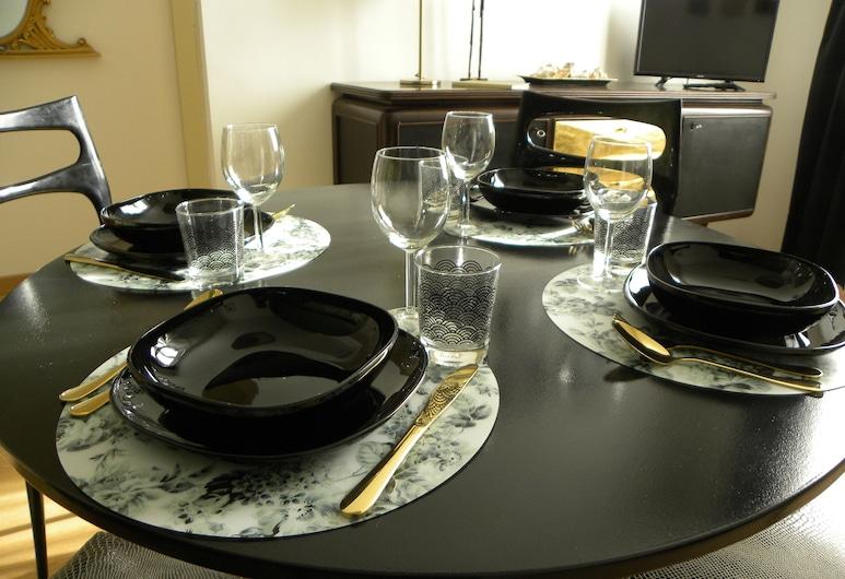Gelsomino 74, Florencia, Apartmán typu Deluxe, 1 spálňa (Gold), Stravovanie v izbe