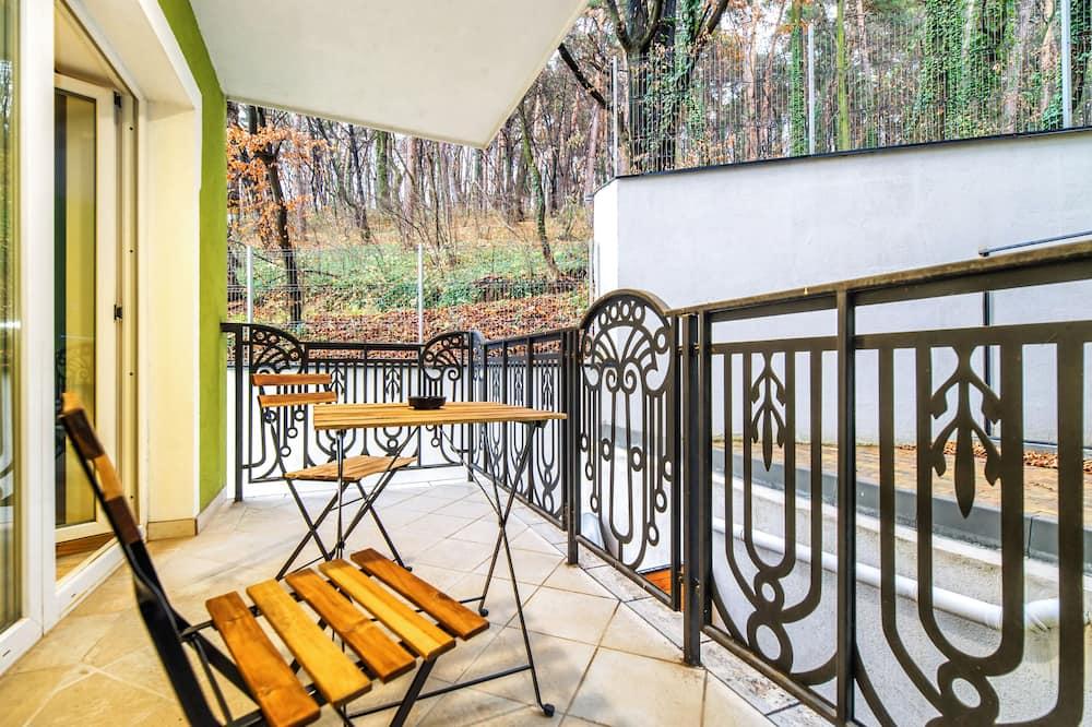 Люкс «Комфорт» - Вид с балкона