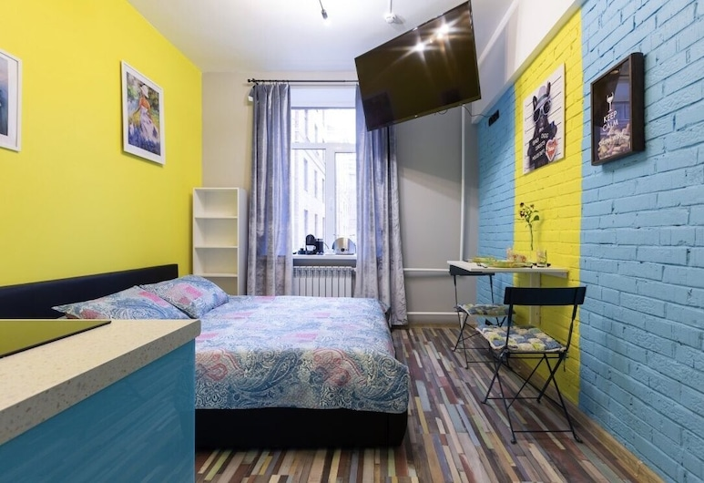 Bussi Suites - Gostinichnaya 10 bld 5, Moskwa, Apartament, 1 sypialnia, Pokój