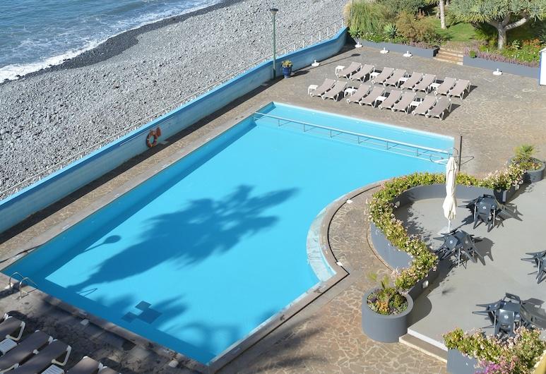 Atlantic view 1 - Apartment with ocean view & pool, Funchal, Kültéri medence