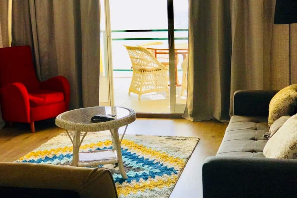 Rodinný apartmán, 2 ložnice, výhled na oceán - Obývací pokoj