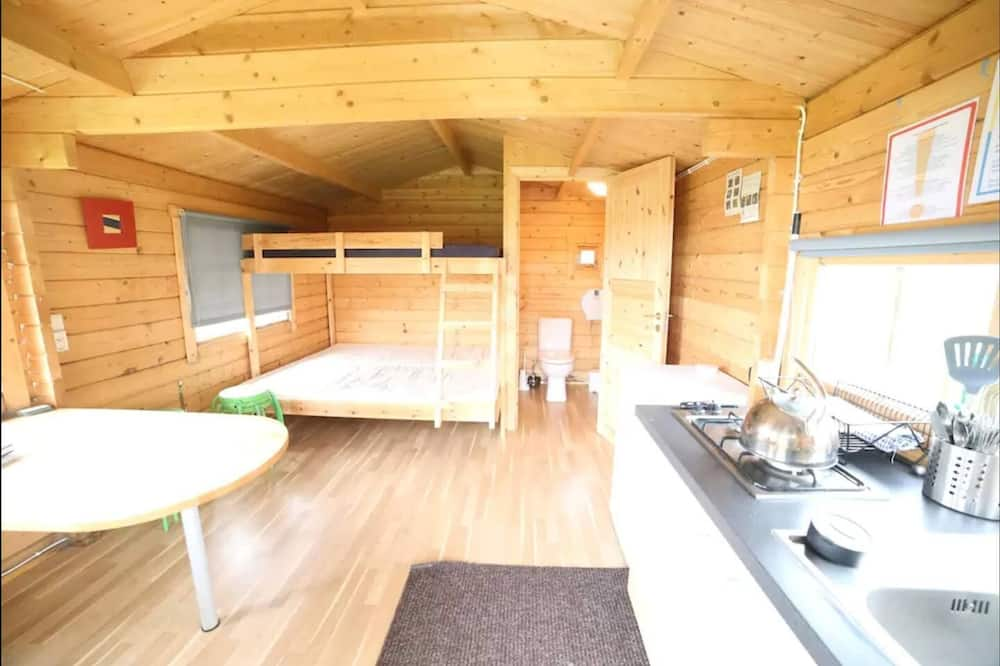 Cabin (Private WC, shared showers) - Living Area