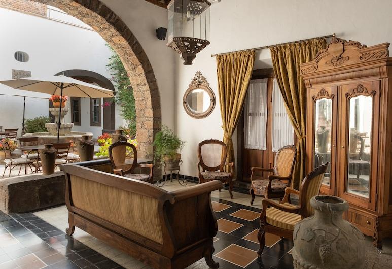 Hotel Layseca, San Juan del Río, Terrasse/Patio