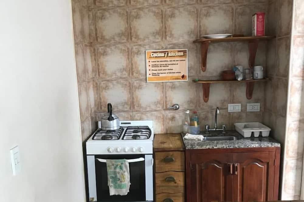 Kamer, 1 twee- of 2 eenpersoonsbedden - Gemeenschappelijke keuken