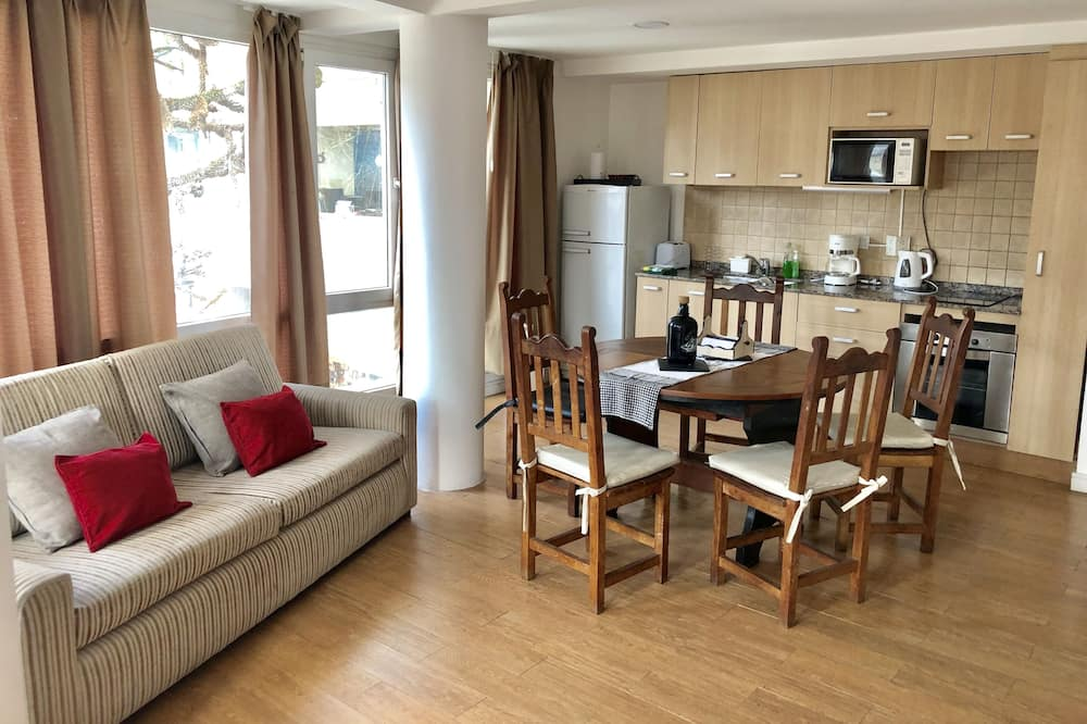 Traditional Apartment - Living Area
