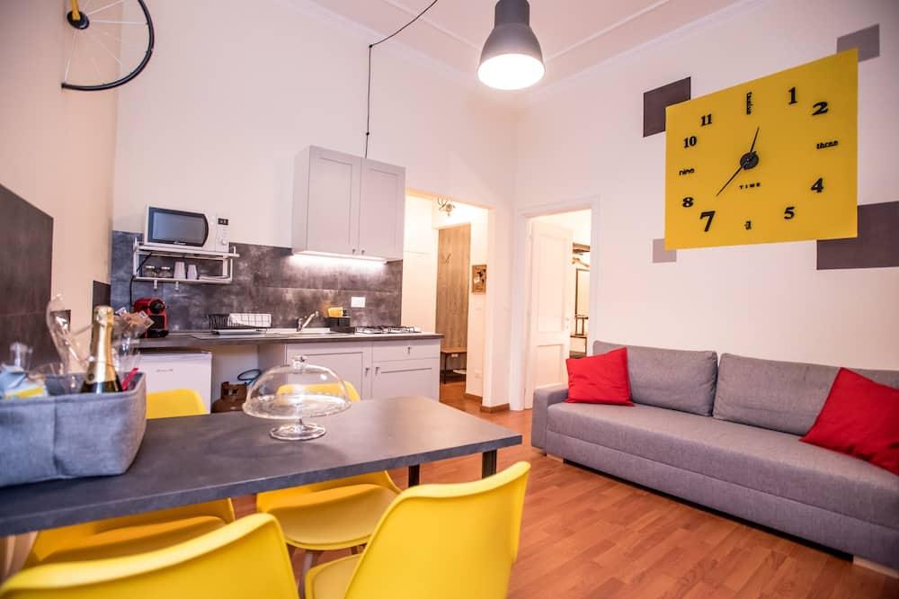 City Apartment, 1 Bedroom - Living Area
