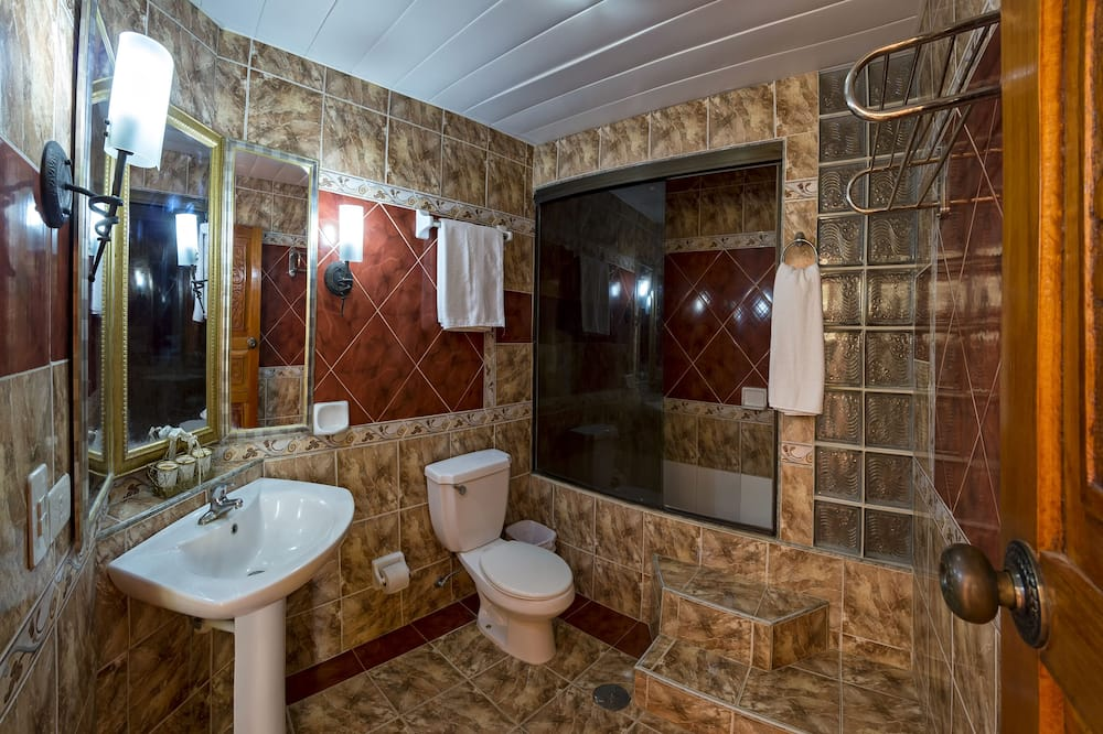이코노미 트리플룸, 시내 전망 - 욕실