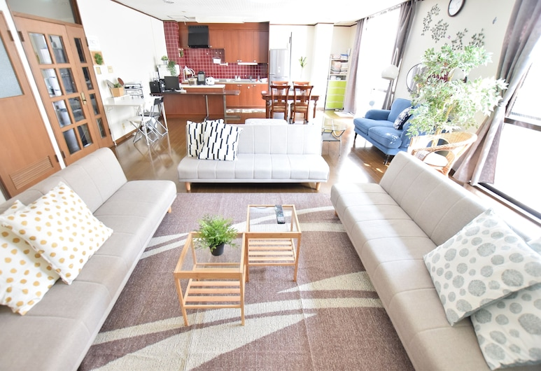 Inoue Building, Osaka, Apartment, 2 Bedrooms, Living Room