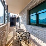 Rodinný apartmán, 2 spálne, balkón, výhľad na mesto - Balkón