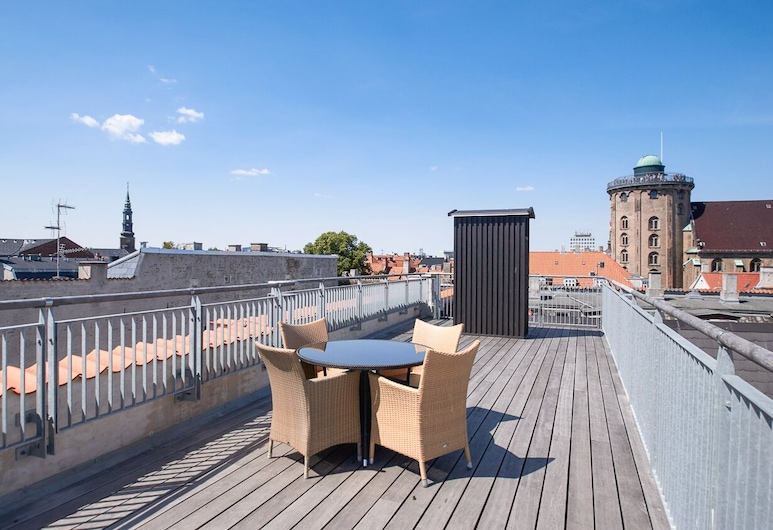 Bright and Modern Apartment With a Rooftop Terrace in the Center of Copenhagen, קופנהגן, מרפסת