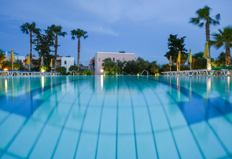Chrysoula Hotel & Apartments, Kos, Venkovní bazén