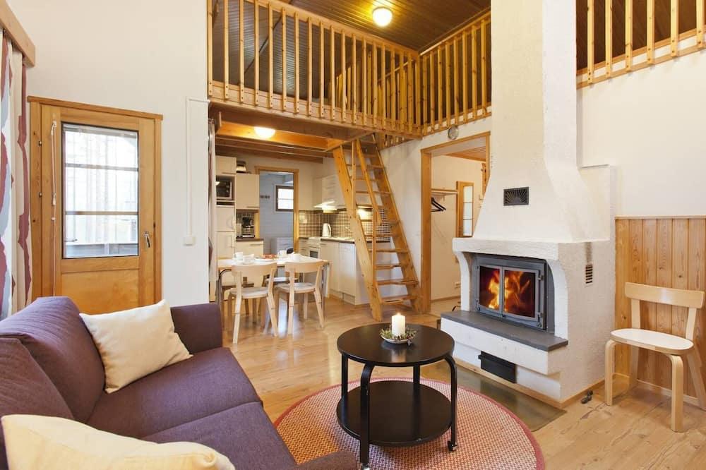 Divstāvu numurs, divas guļamistabas, pirts (48 m2) - Dzīvojamā zona