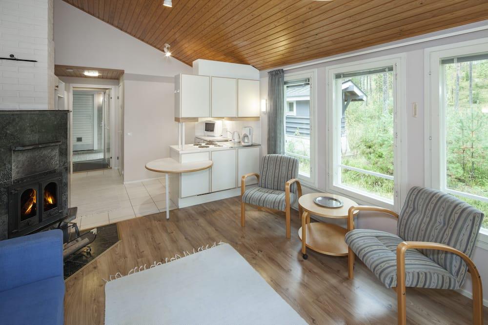 Studio, Sauna (34 m2, R2) - Living Area