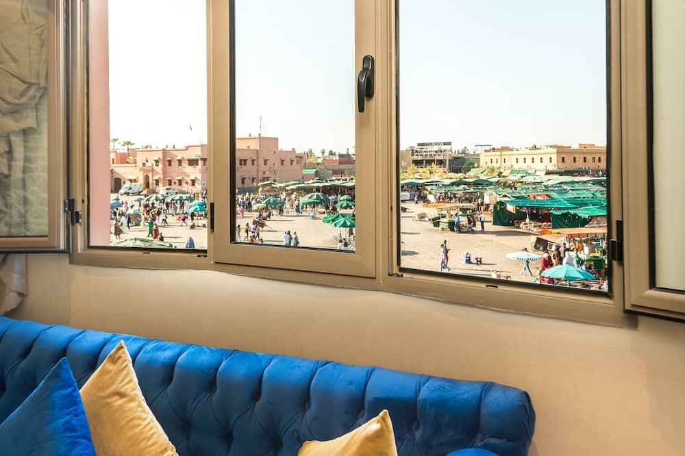 Apartmán typu Superior, 2 ložnice (Without Balcony) - Obývací prostor