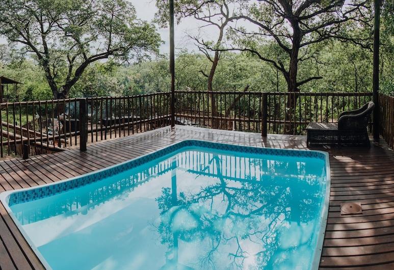 버팔로 록 텐티드 캠프, 크루거 국립공원, 야외 수영장