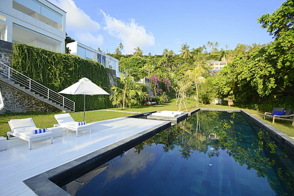 豪華別墅, 5 間臥室, 海景, 向海 - 私人泳池