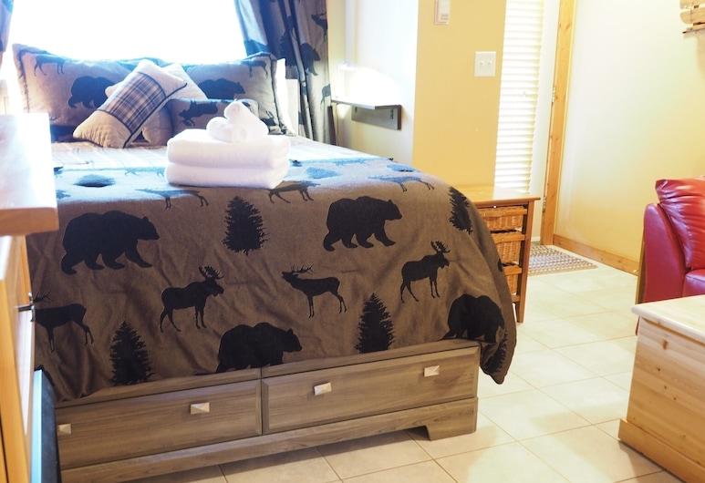 Outlaws 103 Studio Bedroom Condo, Penticton, Estudio, Habitación