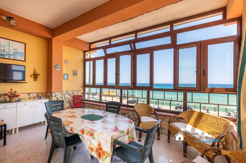 Апартаменты, 1 спальня, вид на море - Терраса