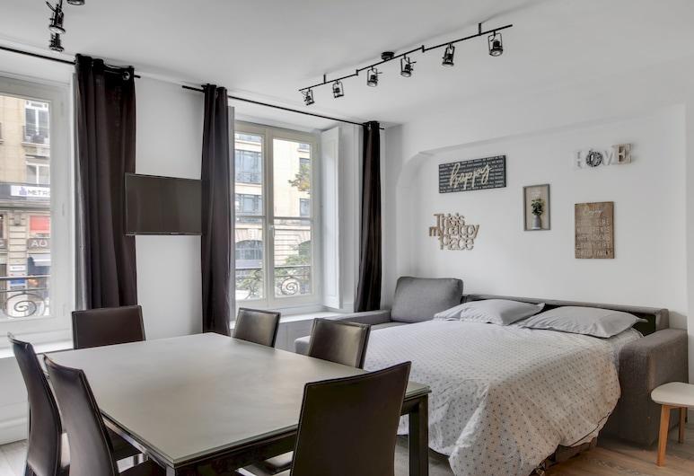 Suite MARY Ultra Chic Montorgueil Paris, Paris, Comfort Apartment, Living Area
