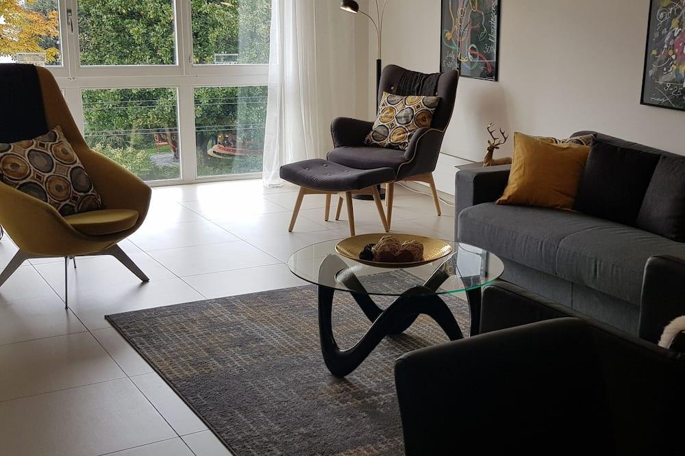 City Apartment - Living Room