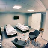 Family Quadruple Room, Private Bathroom - Living Area