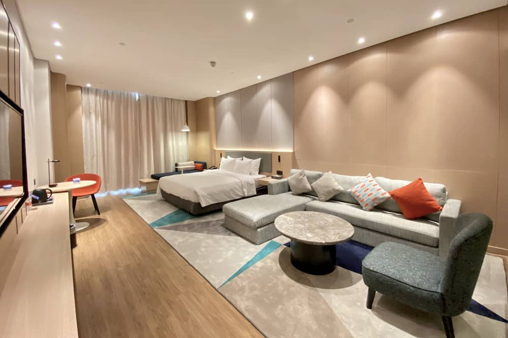Chambre, 1 très grand lit, non-fumeurs (Feature) - Chambre