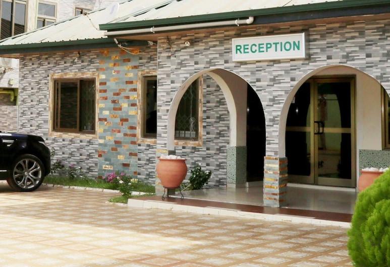 Hotel Green, Accra, Reception