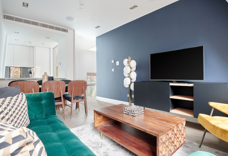 Sonder - Maughan Library Apartments, London, Wohnzimmer