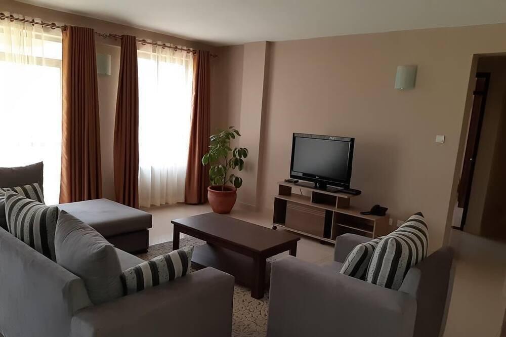 Premium-Apartment - Wohnzimmer