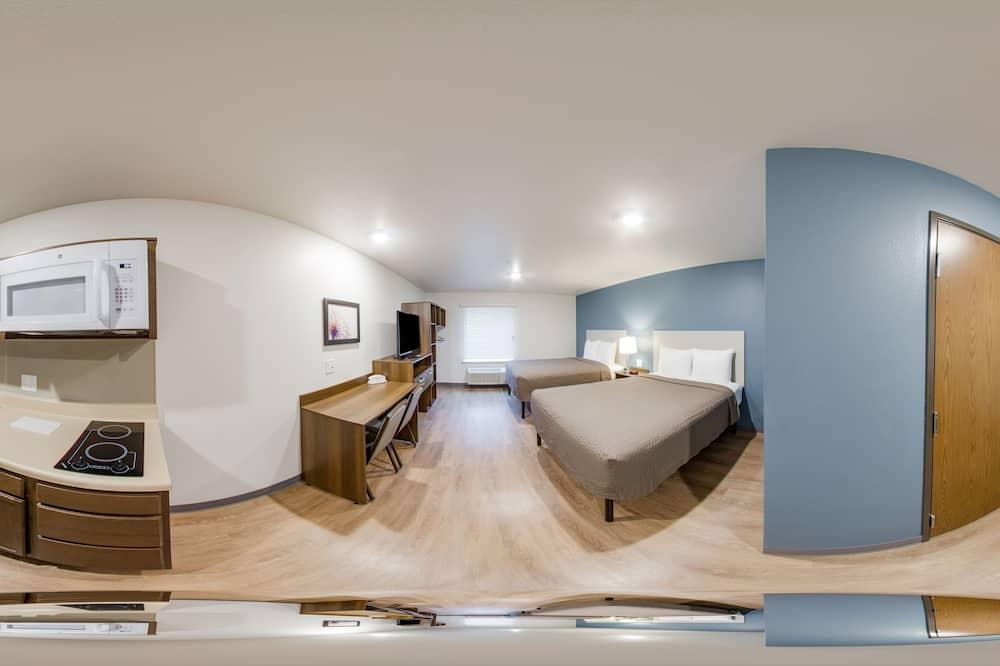 Standard Studio, 2 Queen Beds, Non Smoking, Kitchen - Guest Room