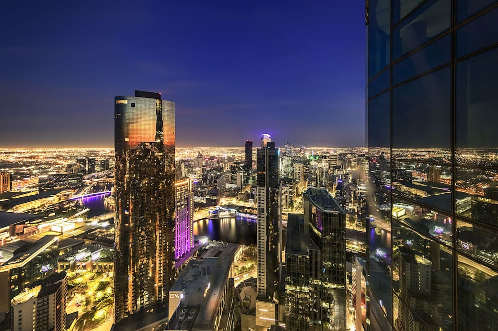 Апартаменты (1 Bedroom Sky Apartment) - Вид на город