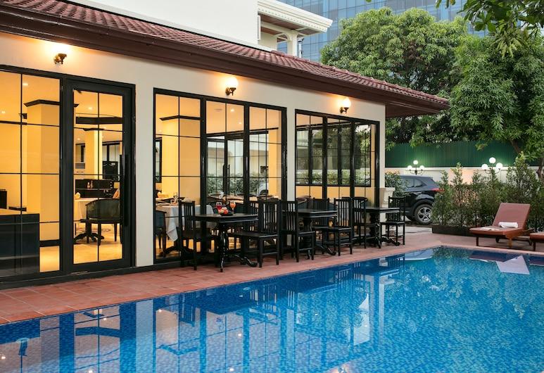 ビエンチャン ブティック ヴィラ, Vientiane, 屋外プール