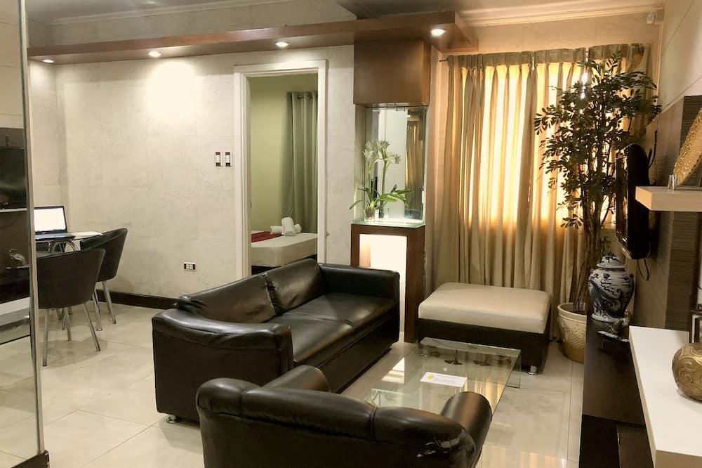 Superior Twin Room - Ruang Tamu