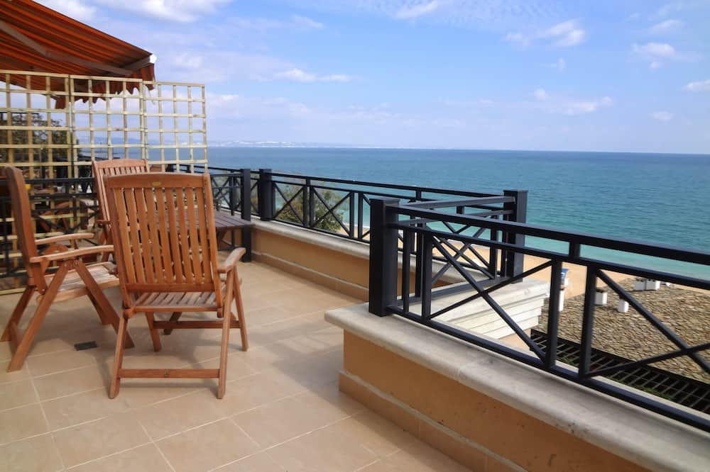 1-Bed with Sea View - Bridal Apartment - Balkoni