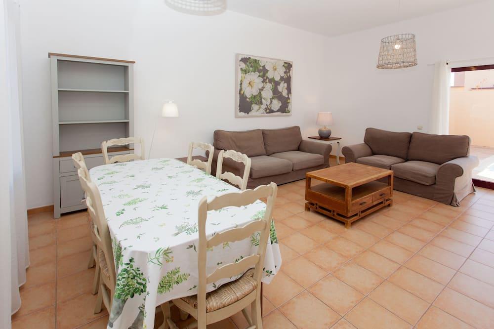 Vila, 2 spavaće sobe, privatni bazen - Dnevni boravak