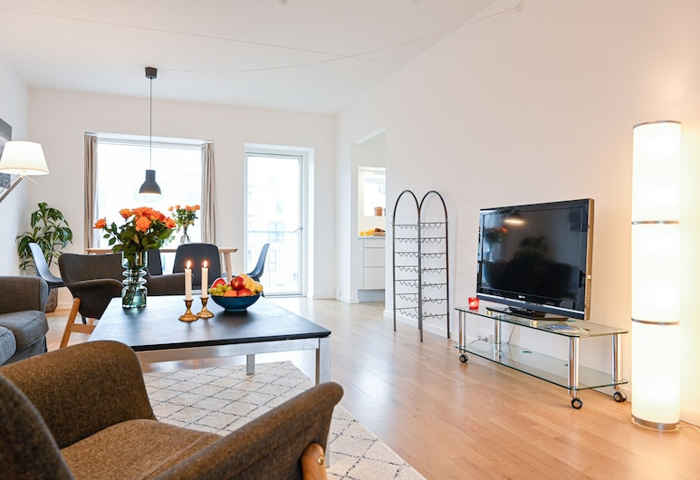 Spacious Modern 3-bedroom Apartment Near Metro Station in Copenhagen Ørestad, Kodaň