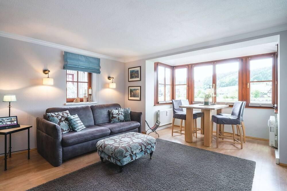 Departamento clásico (incl. 50 EUR cleaning fee) - Sala de estar