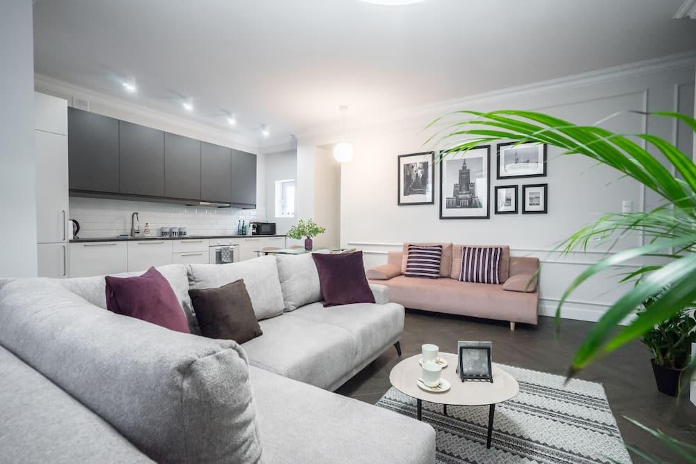 Elite Apartment - Living Room