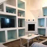 Romantikus szoba kétszemélyes ággyal, közös fürdőszoba - Nappali
