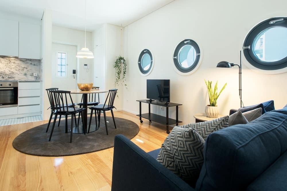 Apart Daire, 1 Yatak Odası (Bolhao) - Oturma Alanı