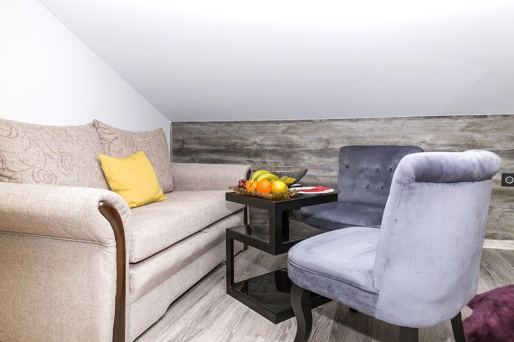 Superior Δίκλινο Δωμάτιο (Double) - Καθιστικό