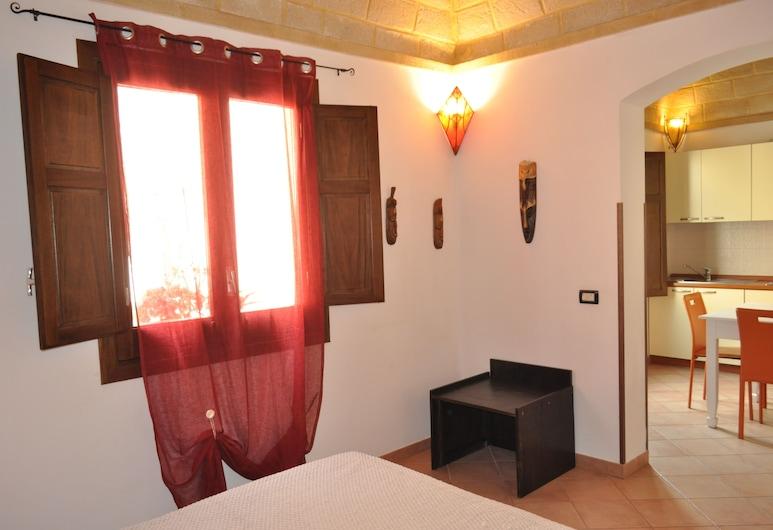 三灣鹽和檸檬鋼琴之地飯店, 聖維托角, 公寓, 1 間臥室, 客房